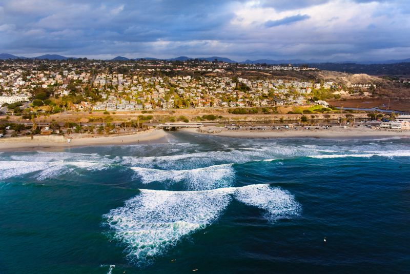 Cardiff beach San Diego, CA